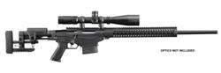 """Ruger 18004 Precision Rifle Bolt 308 Winchester 20"""" 10+1 Folding Adjustable Black Stk Black"""