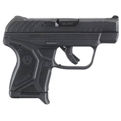"Ruger 3750 LCP Single 380 Automatic Colt Pistol (ACP) 2.75"" 6+1 FS Black Poly Grip/Frame Blued"