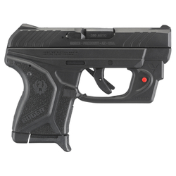 "Ruger 3758 LCP II with Viridian Red Laser Single/Double 380 Automatic Colt Pistol (ACP) 2.75"" 6+1 Black Polymer Grip Blued"