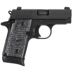 "Sig Sauer 238380XTMBLK P238 Extreme 380 ACP 2.7"" 7+1 Gray G-10 Grip Black"