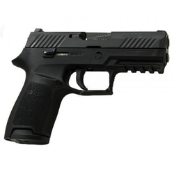 "Sig Sauer 320C9B P320 Compact DAO Striker 9mm 3.9"" 15+1 CS Poly Grip/Frame Blk"
