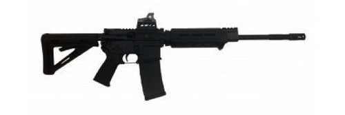 """SIG SAUER M400 16"""" 5.56 NATO MOE RIFLE W/ROMEO3 SIGHTS- RM400-16B-ECP-R3-SI"""