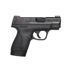 "Smith & Wesson 10109 M&P 40 Shield Double 40 Smith & Wesson (S&W) 3.1"" Ported 6+1/7+1 Black Polymer Grip Black Stainless Steel"