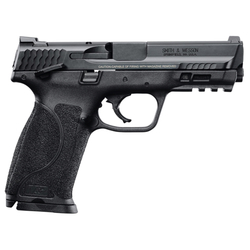"""Smith & Wesson 11524 M&P 9 M2.0 Double 9mm Luger 4.25"""" 17+1 Black Interchangeable Backstrap Grip Black Stainless Steel"""