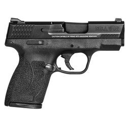 "Smith & Wesson 11531 M&P 45 Shield Double 45 Automatic Colt Pistol (ACP) 3.3"" 6+1/7+1 Black Polymer Grip/Frame Grip Black Stainless Steel"
