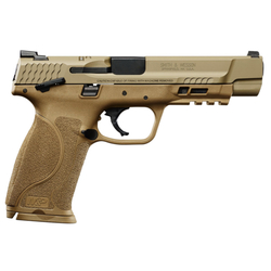 """Smith & Wesson 11595 M&P 40 M2.0 Double 40 Smith & Wesson (S&W) 5"""" 15+1 Flat Dark Earth Interchangeable Backstrap Grip Flat Dark Earth Stainless Steel"""
