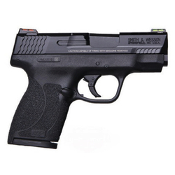 "Smith & Wesson 11629 M&P 45 Shield Double 45 Automatic Colt Pistol (ACP) 3.3"" Ported 6+1/7+1 Black Polymer Grip Black Stainless Steel"