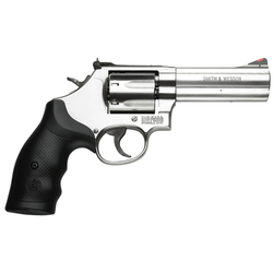 "Smith & Wesson 164194 686 Plus Single/Double 357 Magnum 4"" 7 Black Synthetic Stainless"