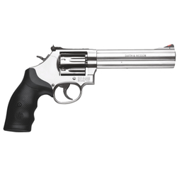 "Smith & Wesson 164198 686 Plus Distinguished Combat Single/Double 357 Magnum 6"" 7 Black Synthetic Stainless"