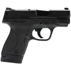 "Smith & Wesson 180020 M&P 40 Shield Double 40 Smith & Wesson (S&W) 3.1"" 6+1/7+1 Black Polymer Grip Black Stainless Steel"