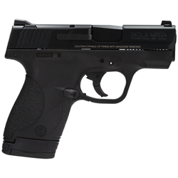 "Smith & Wesson 180021 M&P 9 Shield Double 9mm Luger 3.1"" 7+1/8+1 Black Polymer Grip Black Stainless Steel"