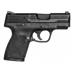 "Smith & Wesson 180022 M&P 45 Shield Double 45 Automatic Colt Pistol (ACP) 3.3"" 6+1/7+1 Black Polymer Grip Black Stainless Steel"