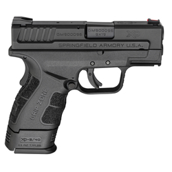 """Springfield Armory XDG9801HC XD Mod.2 Sub-Compact Double 9mm 3"""" 13+1/16+1 w/X-Tension Black"""