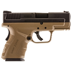"Springfield Armory XDG9845FDEHC XD Mod.2 Double 45 Automatic Colt Pistol (ACP) 3.3"" 13+1 FDE Polymer Grip"