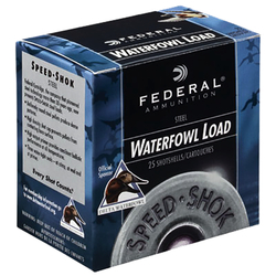 "Federal WF134BB Speed-Shok Waterfowl 12 ga 3.5"" 1-1/2oz BB Shot 25Bx/10Cs"