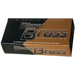 CCI 5204 Blazer 38 Special 125 GR FMJ Flat Nose