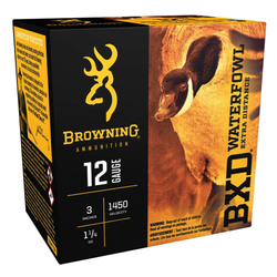 "Browning Ammo B193411233 BXD Extra Distance 12 Ga 3"" 1-1/4 oz 3 Shot 25 Bx/ 10 Cs"