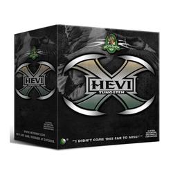"Hevi-Shot 52302 Hevi-X Tungsten Waterfowl 20ga 3"" 1 oz 2 Shot 25/Box 10/Cs"