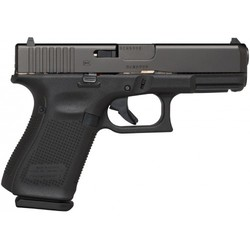 "Glock PA1950203 G19 Gen5 Double 9mm Luger 4.02"" 15+1 FS Black Interchangeable Backstrap Grip Black nDLC"