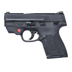 Smith & Wesson 11672 M&P 40 Shield M2.0 with Crimson Trace Red Laser Double 40