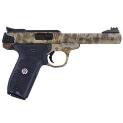 "Smith & Wesson 10297 SW22 Victory Single 22 Long Rifle 5.5"" 10+1 Blk Polymer Grip Kryptek Highlander"