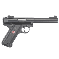 "Ruger 40101 Mark IV Target Double 22 Long Rifle (LR) 5.5"" 10+1 Black Synthetic Grip Blued Steel"