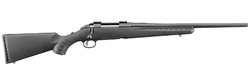 """Ruger 6908 American Compact Bolt 243 Winchester 18"""" 4+1 Synthetic Black Stock Black"""