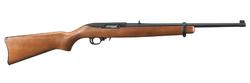 "Ruger 1103 10/22 Carbine Semi-Automatic 22 Long Rifle (LR) 18.5"" 10+1 Walnut Stock Black"