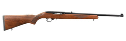 "Ruger 1102 10/22 Sporter Semi-Automatic 22 Long Rifle (LR) 18.5"" 10+1 American Walnut Stock Black"