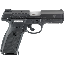 """Ruger 3340 SR9E Standard Double 9mm 4.14"""" 17+1 Black Polymer Grip Blued"""