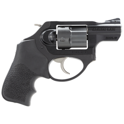 "Ruger 5430 LCR LCRx Single/Double 38 Special +P 1.87"" 5 rd Black Hogue Tamer Monogrip Grip Black"