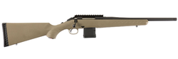 "Ruger 26965 American Ranch Bolt 223 Remington/5.56 NATO 16.12"" 10+1 Synthetic Flat Dark Earth Stock Black"
