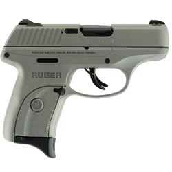"Ruger 3252 LC9s Standard Double 9mm Luger 3.12"" 7+1 3-Dot Savage Stainless Cerakote Grip/Frame Grip Savage Stainless Cerakote"