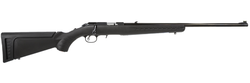 "Ruger 8301 American Rimfire Standard Bolt 22 Long Rifle (LR) 22"" 10+1 Synthetic Black Stock Blued"