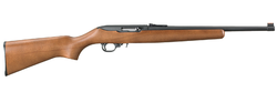 "Ruger 1168 10/22 Compact Semi-Automatic 22 Long Rifle (LR) 16.1"" 10+1 Hardwood Stock Black"