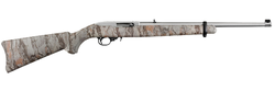 """Ruger 1286 10/22 Carbine Semi-Automatic 22 Long Rifle (LR) 18.5"""" 10+1 Synthetic Natural Gear Camo Stock Stainless"""