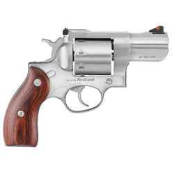 """Ruger 5033 Redhawk Single/Double 357 Magnum 2.75"""" 8 rd Hardwood Grip Stainless Steel"""
