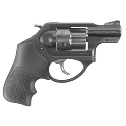 "Ruger 5439 LCR LCRx Single/Double 22 Winchester Magnum Rimfire (WMR) 1.87"" 6 rd Black Hogue Tamer Monogrip Grip Black"