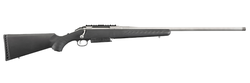 "Ruger 16912 American Magnum Bolt 300 Winchester Magnum 24"" 3+1 Synthetic Black Stock Stainless Steel"