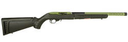 "Ruger 21155 10/22 Takedown Lite Semi-Automatic 22 Long Rifle (LR) 16.1"" 10+1 Synthetic Black Stock Green"