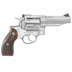 """Ruger 5032 Redhawk Double 45 Automatic Colt Pistol (ACP)/45 Colt (LC) 4.2"""" 6 rd Hardwood Grip Stainless Steel"""