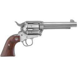 "Ruger 5105 Vaquero Standard Single 45 Colt (LC) 4.62"" 6 Rosewood Stainless"