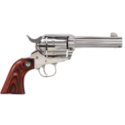 "Ruger 5109 Vaquero Standard Single 357 Magnum 4.62"" 6 rd Rosewood Grip Stainless Steel"