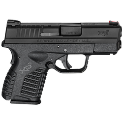 "Springfield Armory XDS9339BE XD-S Essential 9mm DAO 3.3"" 7+1 Polymer Black"