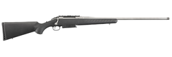 "Ruger 16911 American Magnum Bolt 7mm Remington Magnum 24"" 3+1 Synthetic Black Stock Stainless Steel"