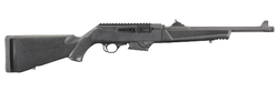 """Ruger 19100 PC Carbine Semi-Automatic 9mm Luger 16.12"""" TB 17+1 Synthetic Black Stock Black Hard Coat Anodized"""