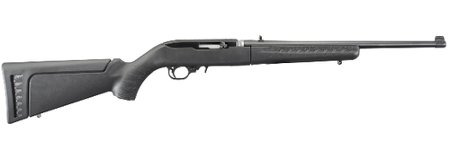 Ruger 21115 10/22 Takedown Semi-Automatic 22 Long Rifle (LR) 10+1 Synthetic Black Stock Blued