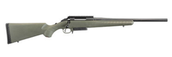 """Ruger 26974 American Predator Bolt 308 Winchester/7.62 NATO 18"""" 3+1 Synthetic Moss Green Stock Black"""