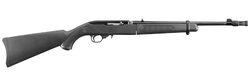 "Ruger 11112 10/22 Takedown Semi-Automatic 22 Long Rifle (LR) 16.6"" 10+1 Synthetic Black Stock Black"