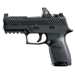 "Sig Sauer 320C9BSSRX P320 Compact RX Double 9mm Luger 3.9"" 15+1 Black Polymer Grip Black Nitron Stainless Steel"